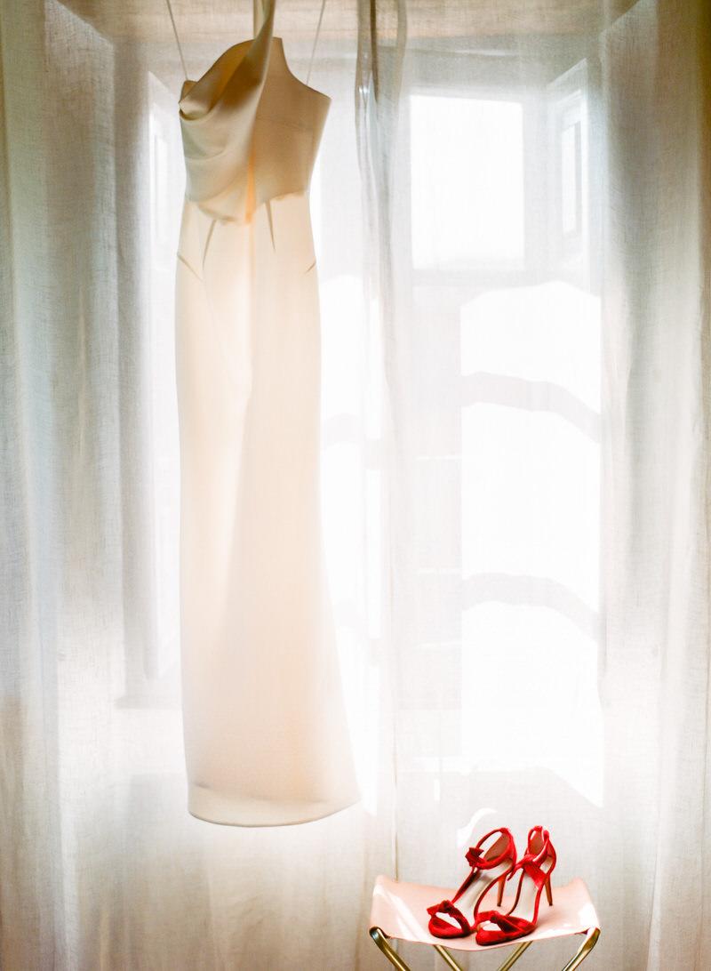 Roland Mouret Wedding Dress