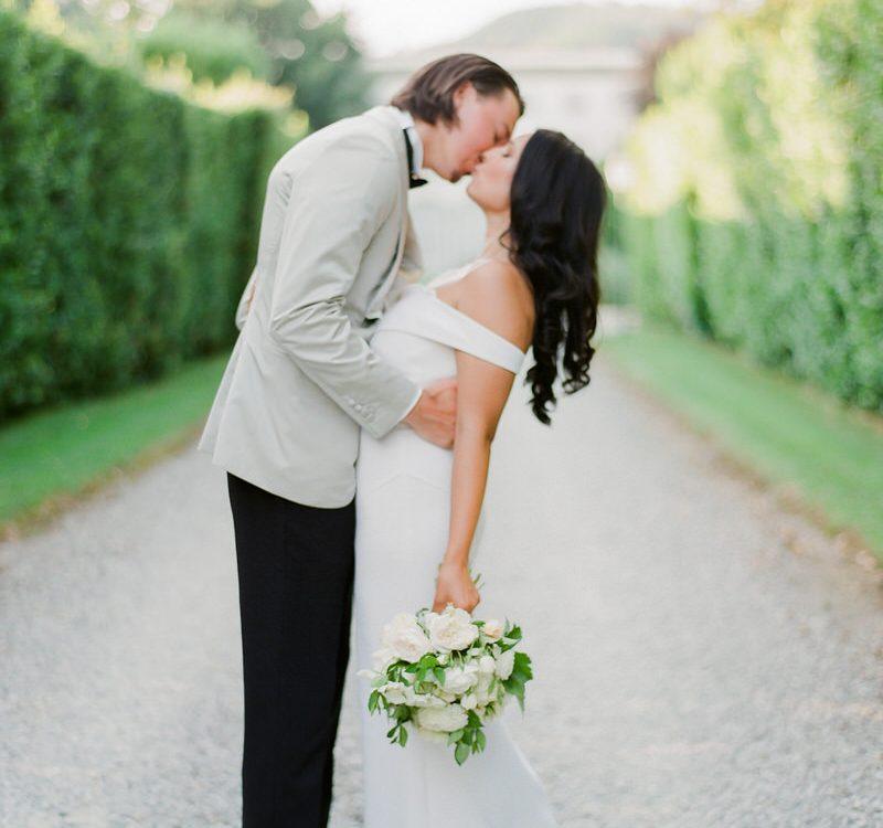 Al Fresco Wedding Romance at Villa Grabau in Lucca