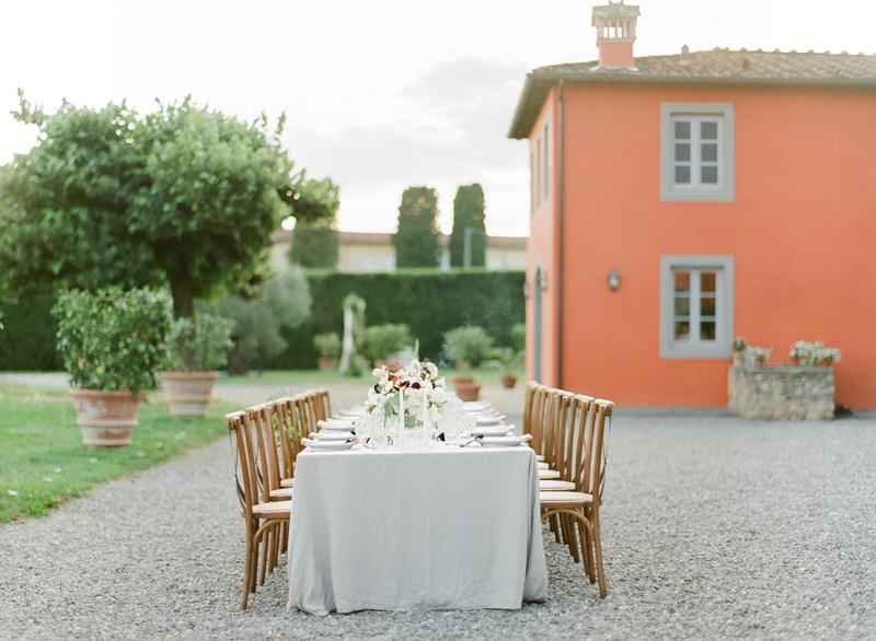 Fine Art Wedding in Tuscany, Villa Grabau