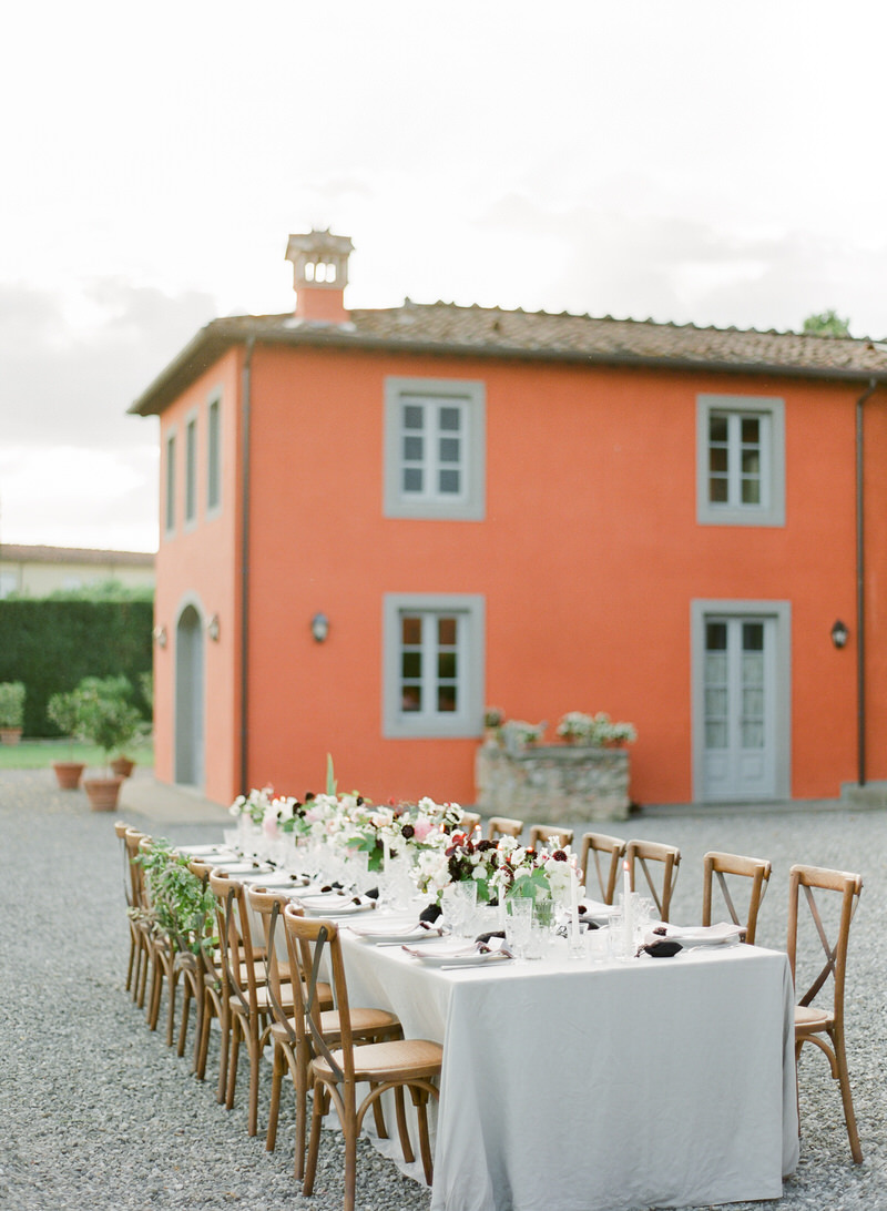 Outdoor Wedding at Arancera Villa Grabau