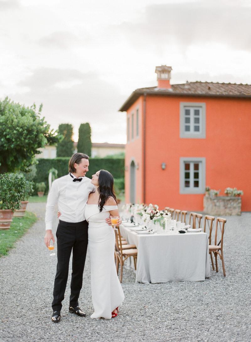 Elopement at Villa Grabau Tuscany