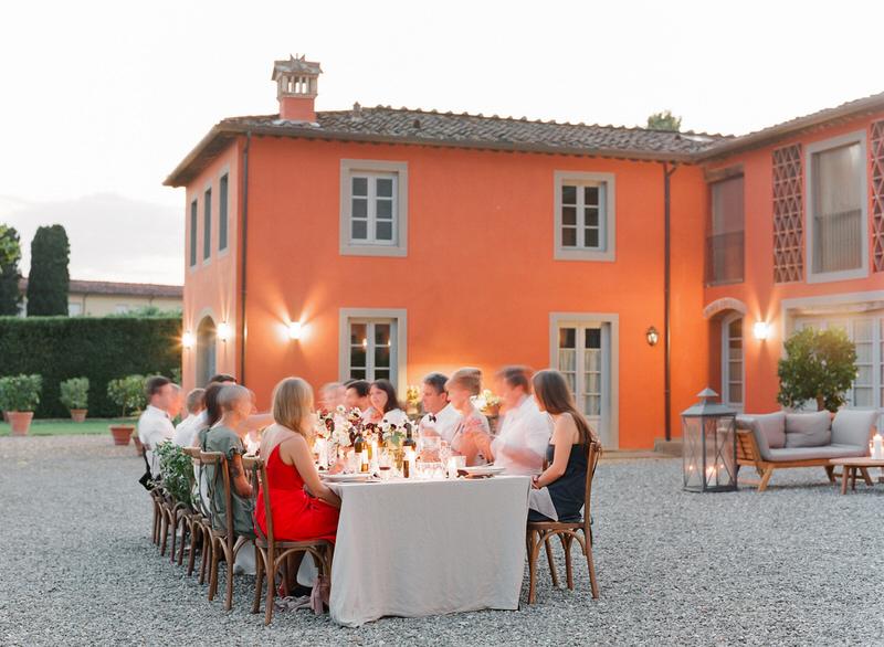 Arancera Villa Grabau Intimate Outdoor Wedding