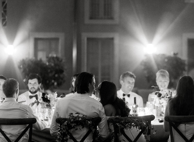 Emotional Toasts at a wedding