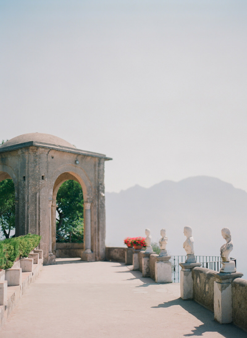 Destination Wedding at Villa Cimbrone