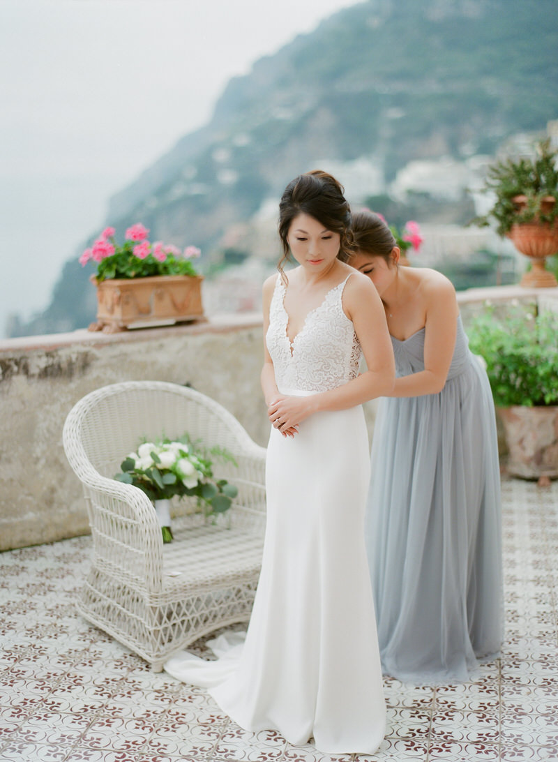 Perfect Venue For a wedding In Positano