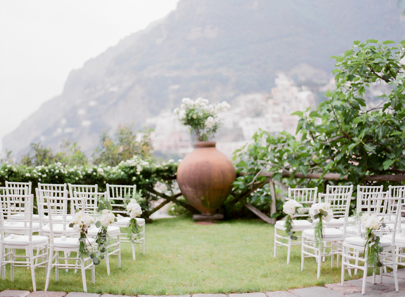 Ceremony at Villa San Giacomo