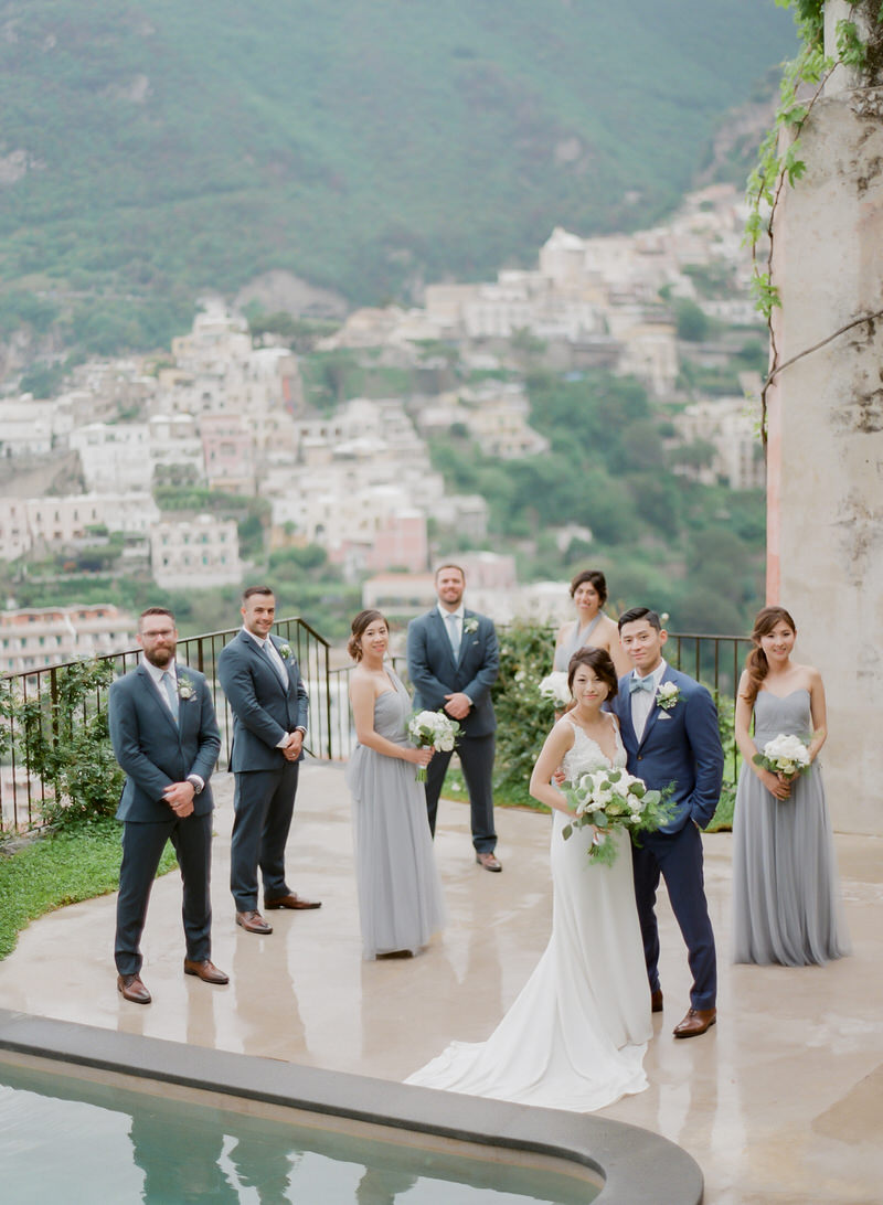 Wedding Party Styled Pictures
