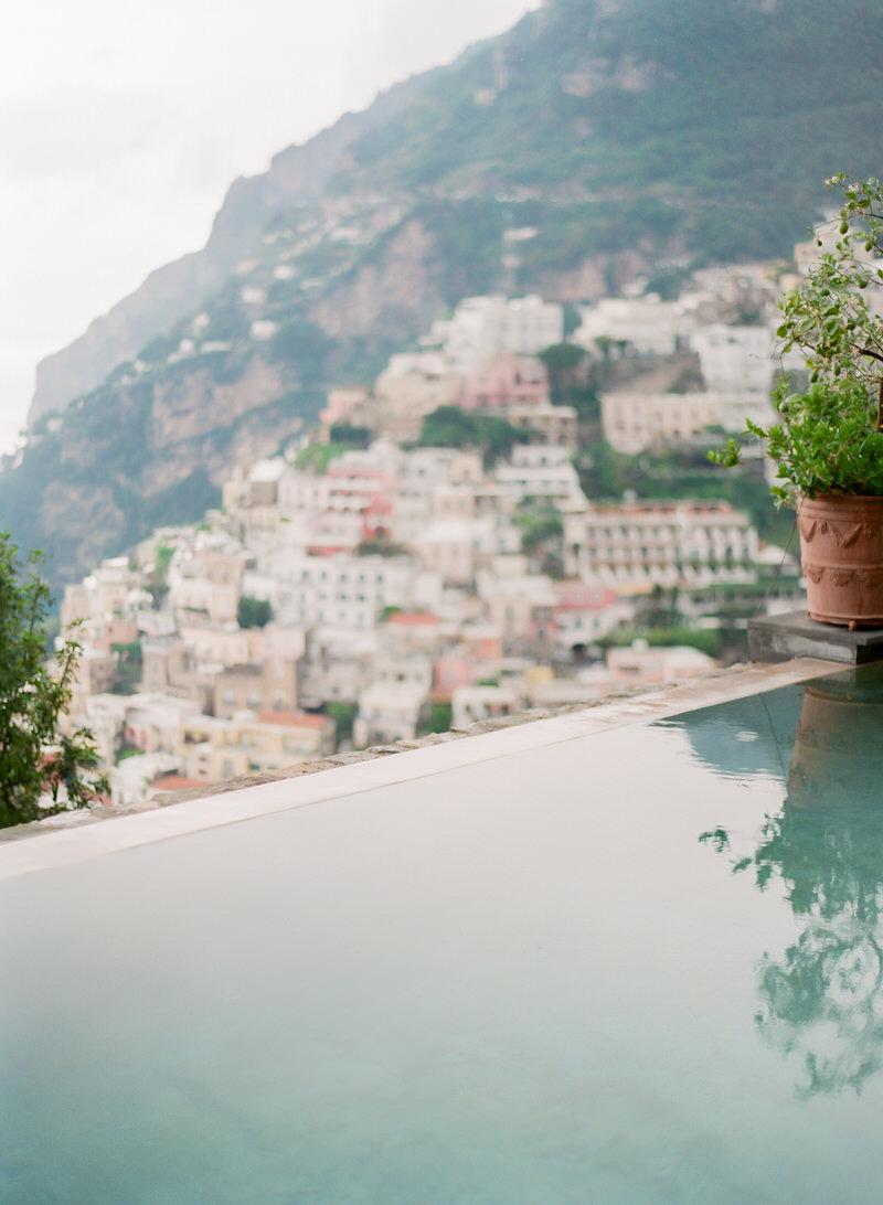 Infinity pool Positano