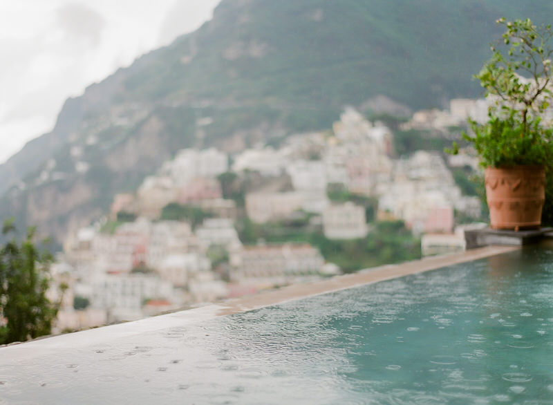 Film Photographer Rainy Amalfi Coast