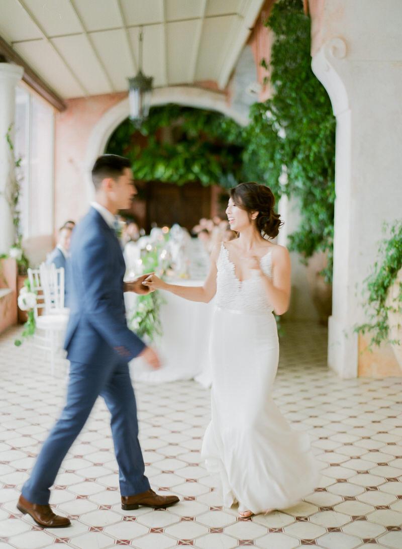 First Dance At Villa San Giacomo