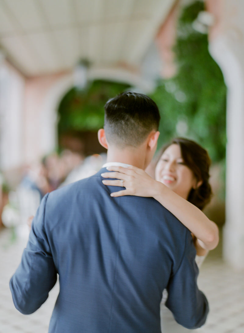 First Dance At Villa San Giacomo