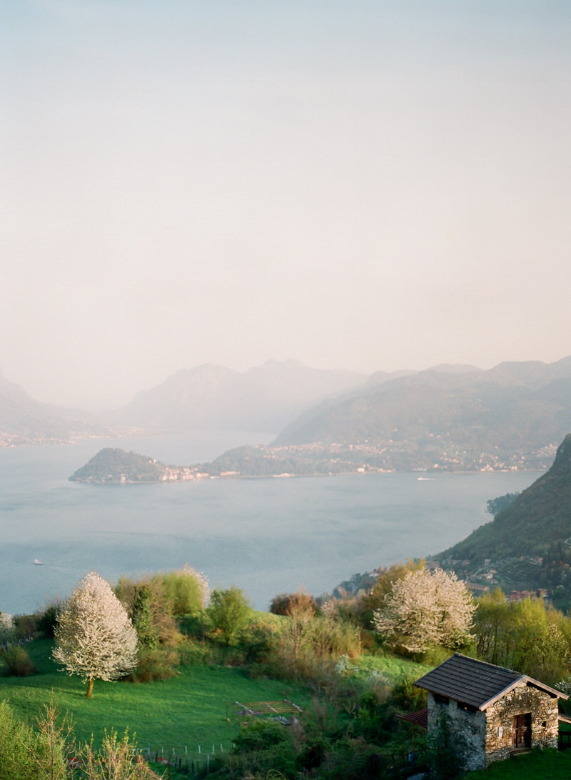 Lake Como from above