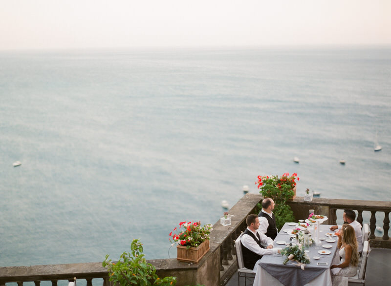 Wedding Venue with incredible view over Positano