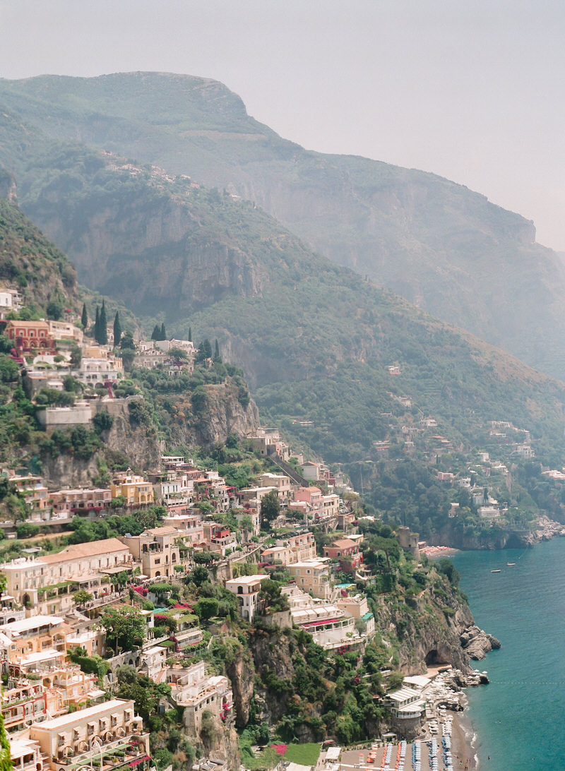 Views from Villa Magia Positano