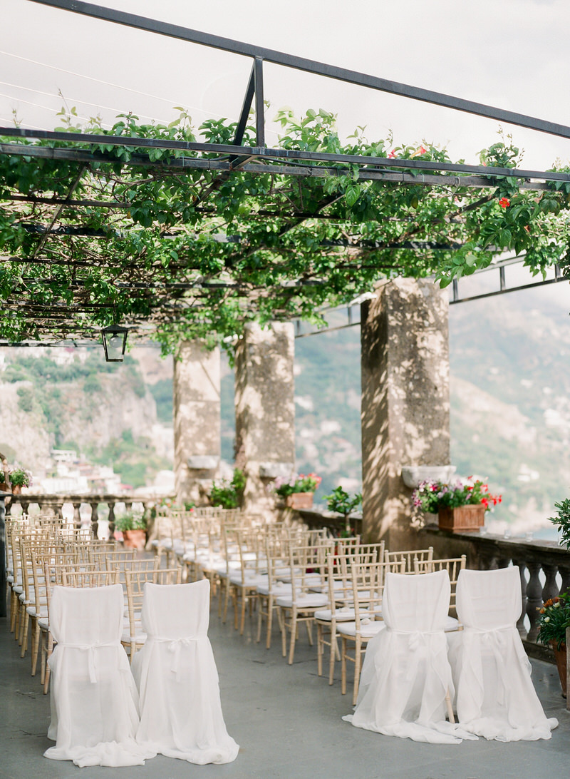 Outdoor Ceremony at Villa Magia Positano