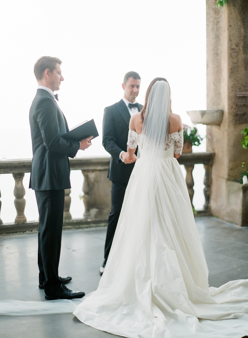 Intimate Ceremony at Villa Magia Positano