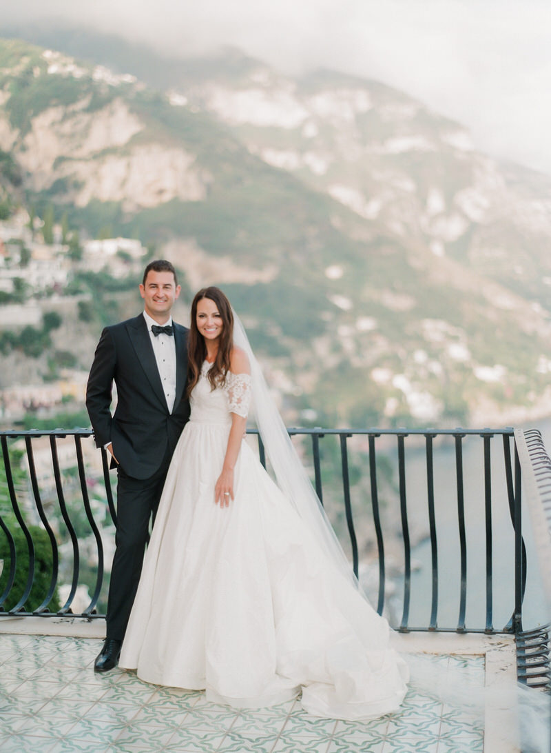 Elegant wedding in Positano