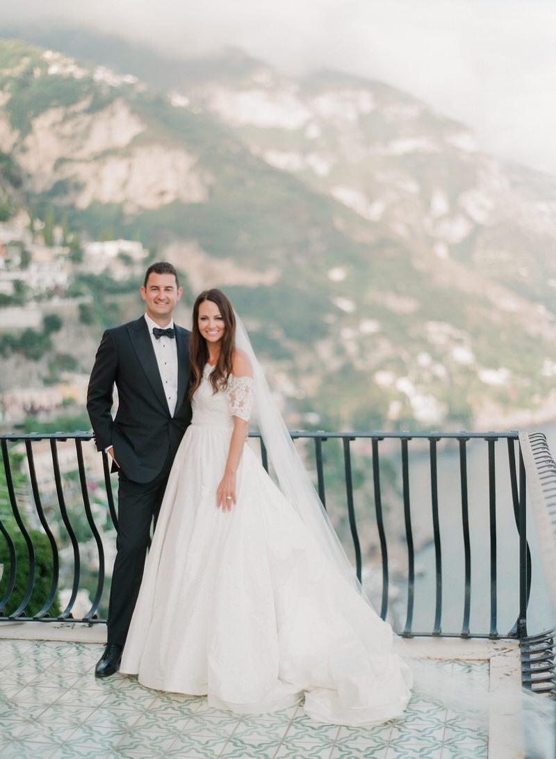 Elegant wedding in Positano