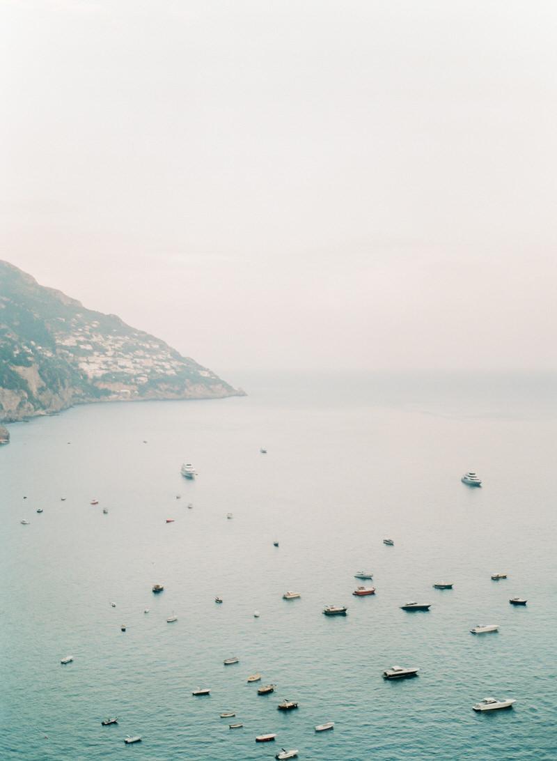 Outdoor Wedding overlooking the Amalfi Coast