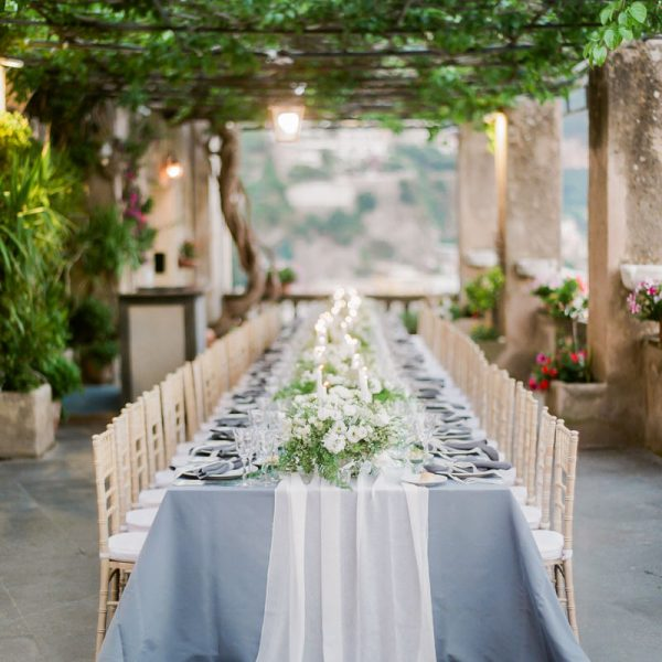 Al Fresco Destination Wedding in Positano