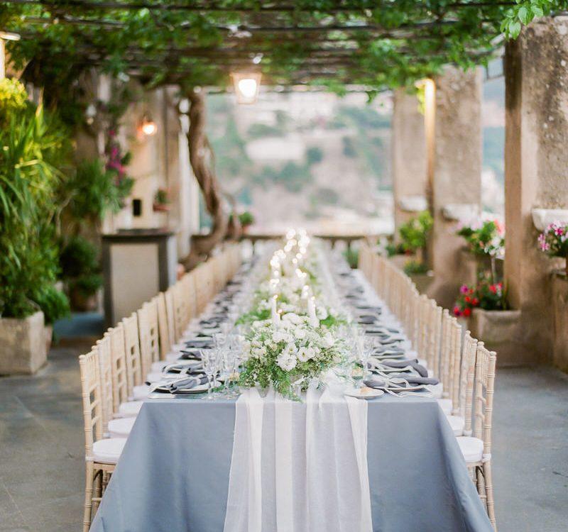 Al Fresco Destination Wedding in Positano