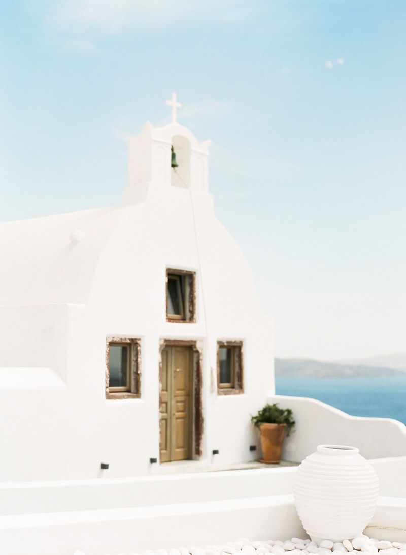 Santorini Film Wedding Photographer