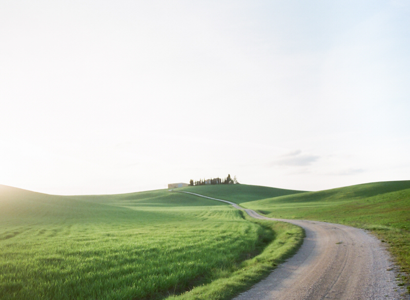 Spring In Tuscany, Pienza