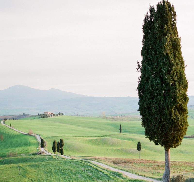 Fairytale Land in Italy, Val d'Orcia Tuscany