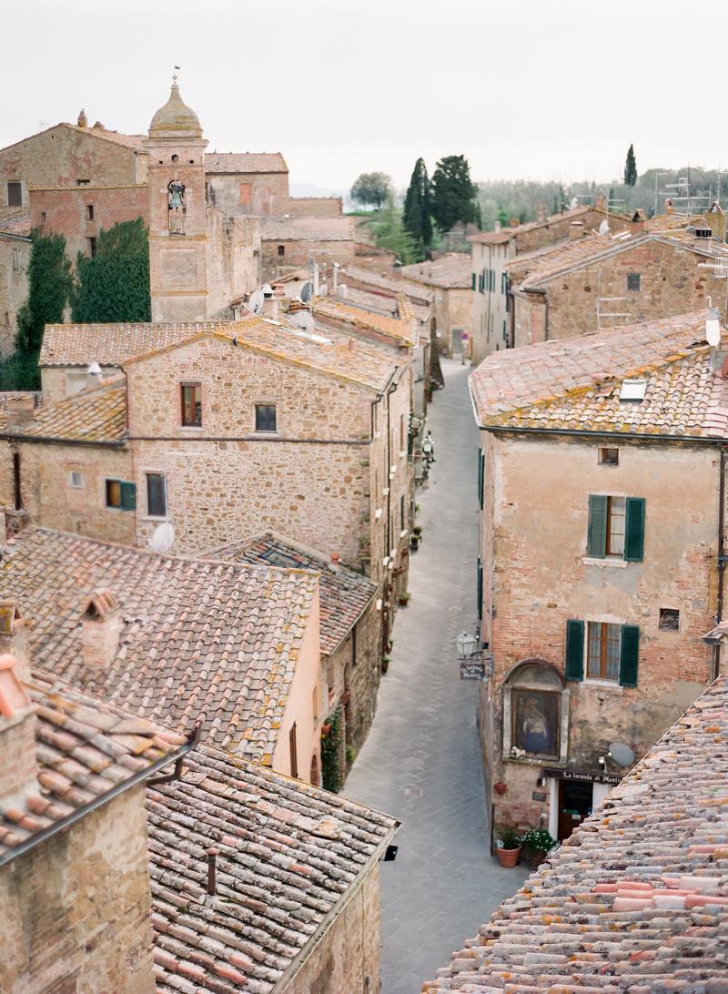 Tuscan old town