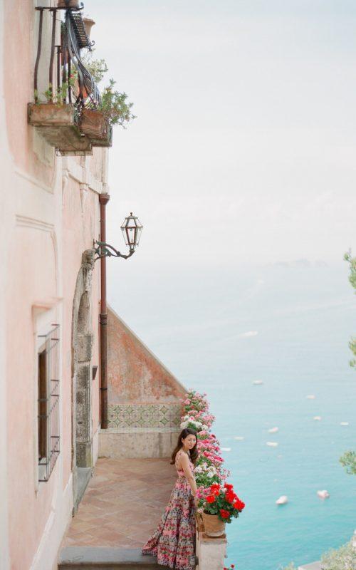 Morning Prewedding shoot in Positano
