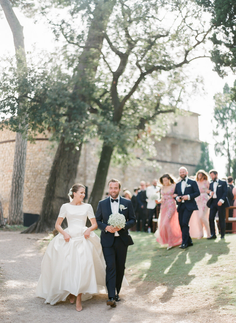 Destination wedding in French Riviera