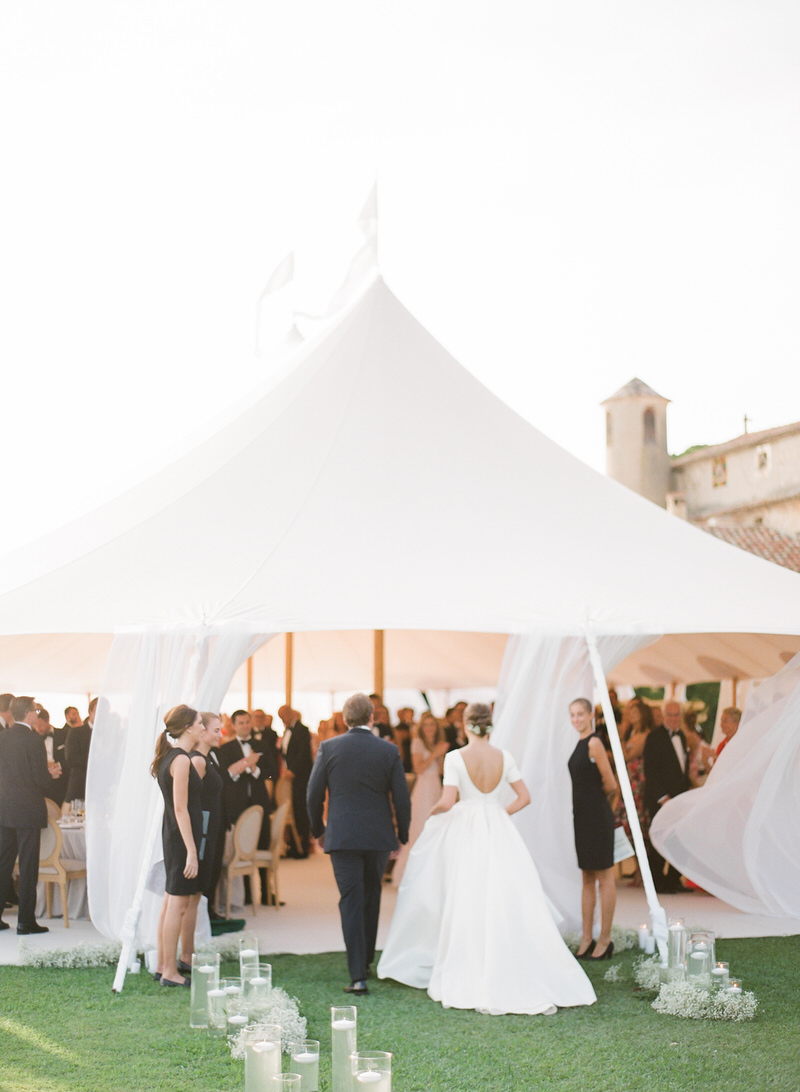 Stunning Marquee Wedding in French Riviera