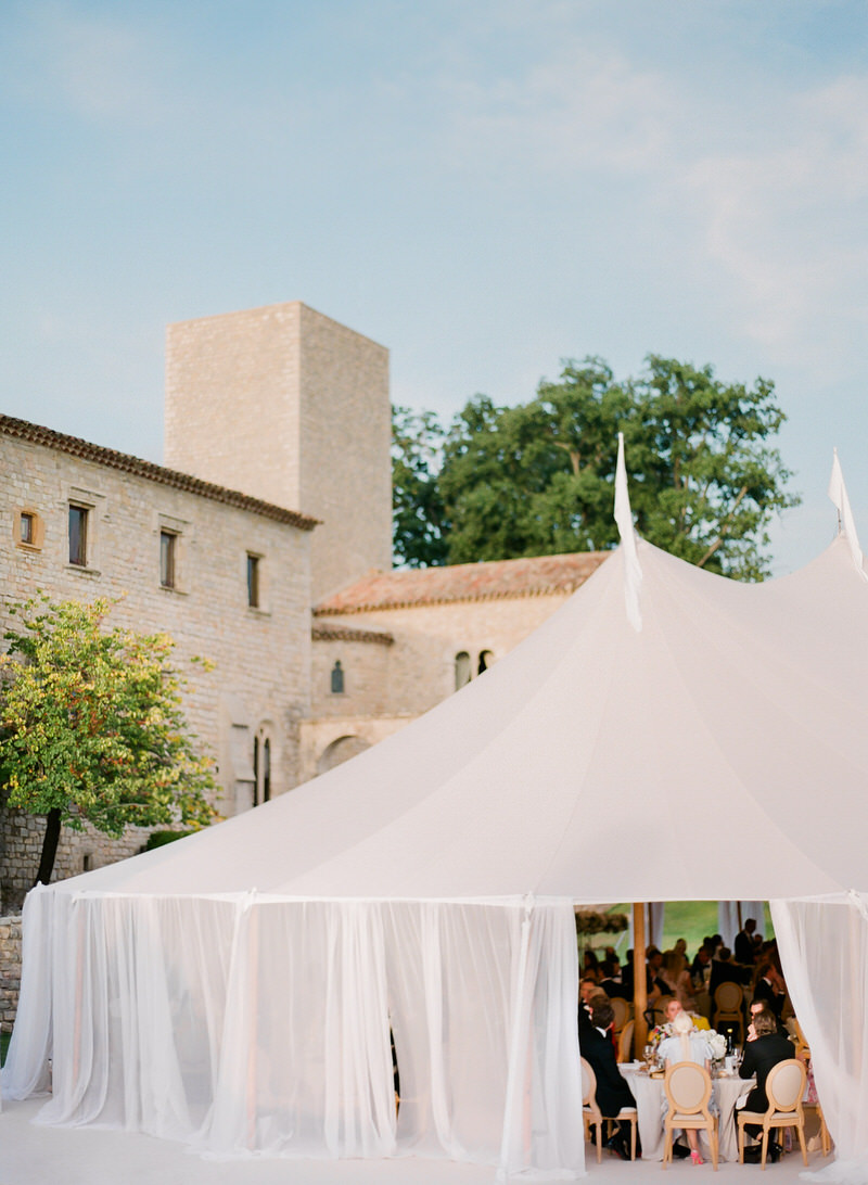 Lavender and Rose Wedding at Chateau De Castellaras