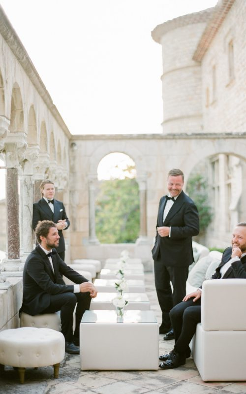 BLACK TIE ELEGANCE, FRENCH RIVIERA