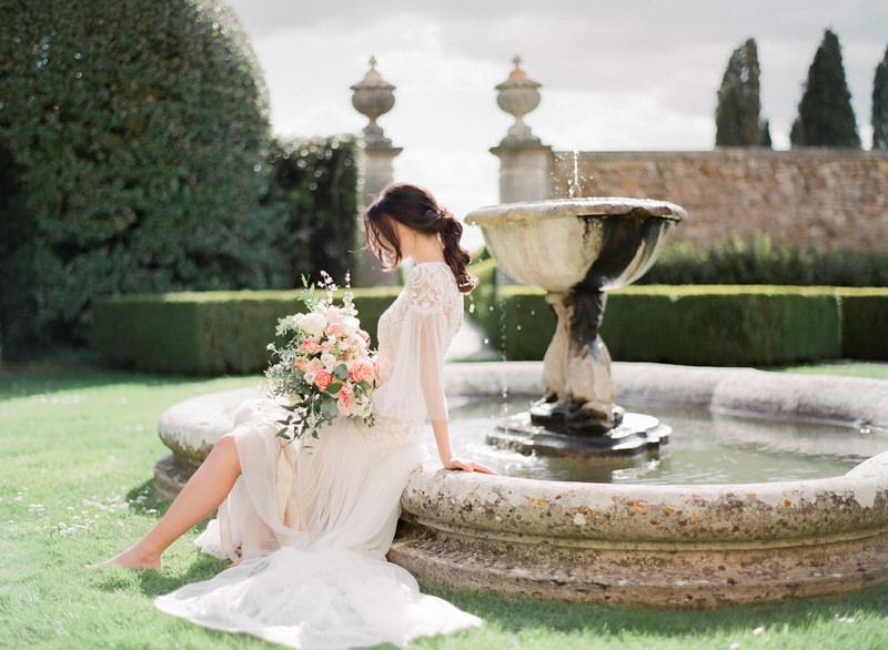 Wedding at La Foce