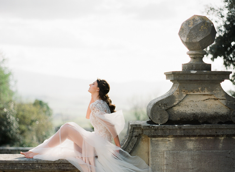 Destination Wedding in La Foce Tuscany