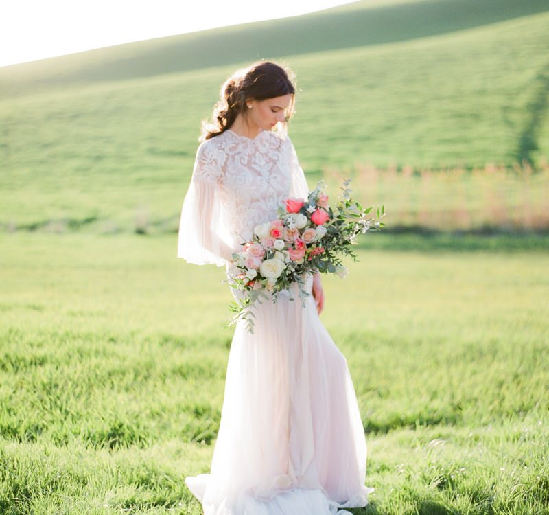 Bridal Inspiration at Luxury La Foce in Tuscany