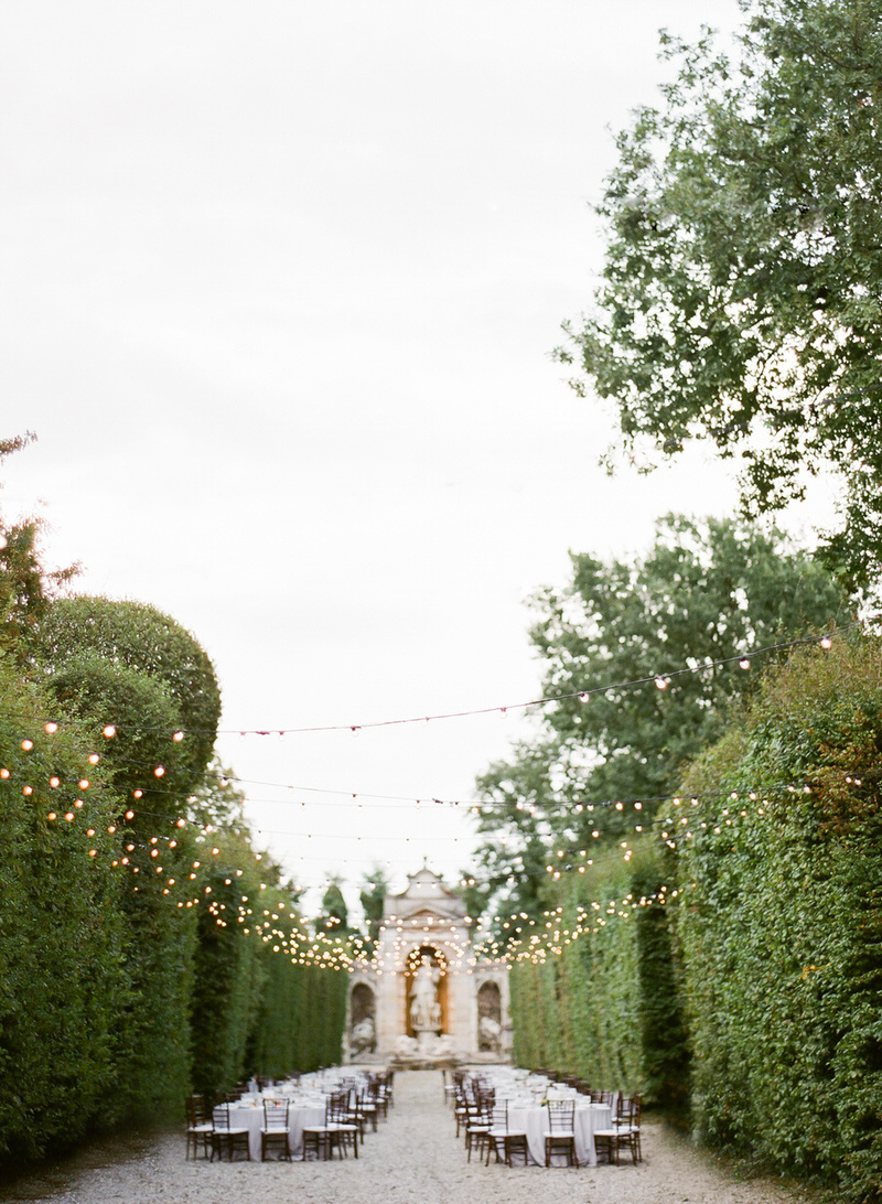 Destination Outdoor Wedding at villa Arconati
