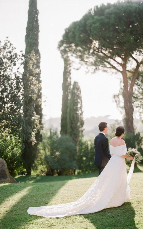 Intimate Al Fresco Wedding in Rome