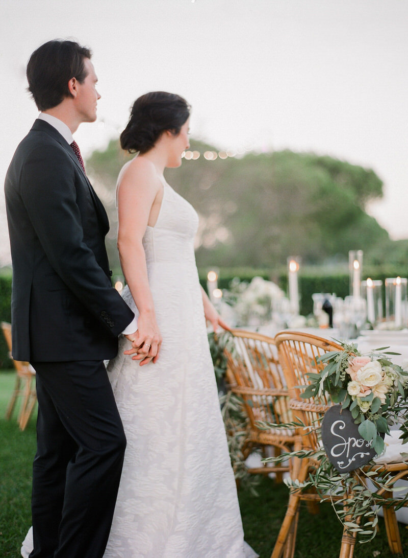 Outdoor Destination Wedding in Rome