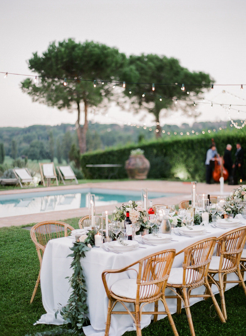 Outdoor Destination Reception in Italy