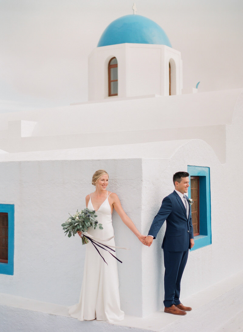 First Look in Santorini