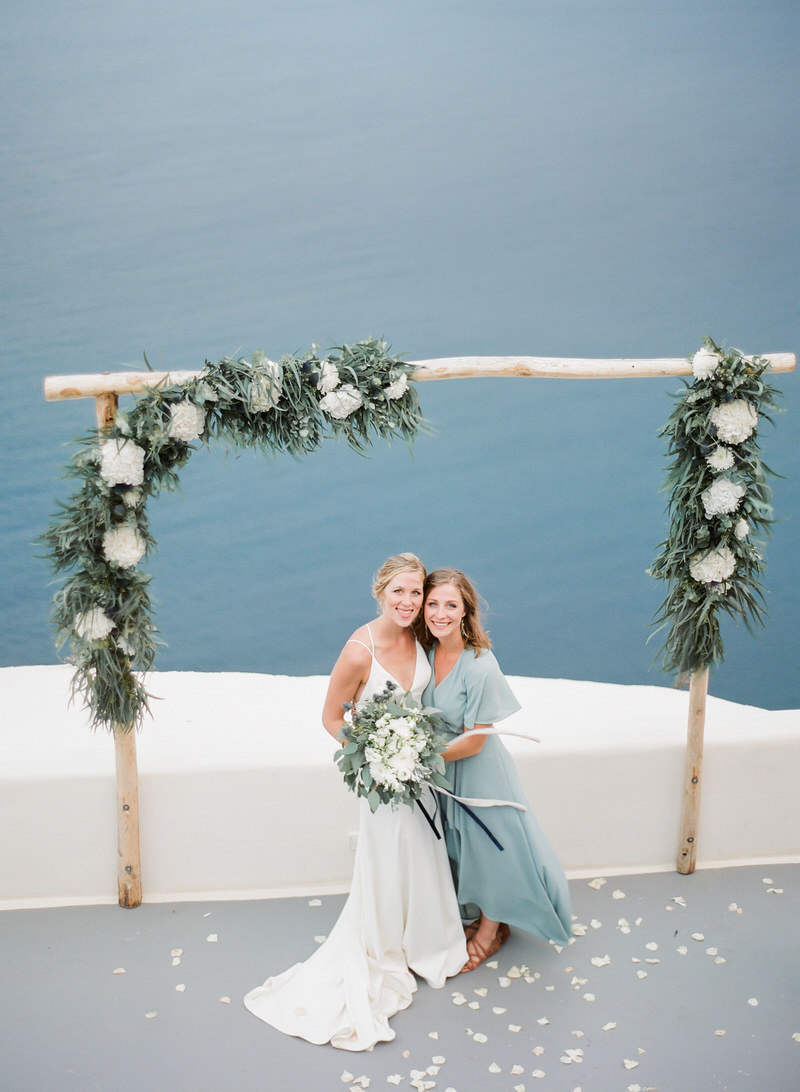 Canaves Oia Wedding