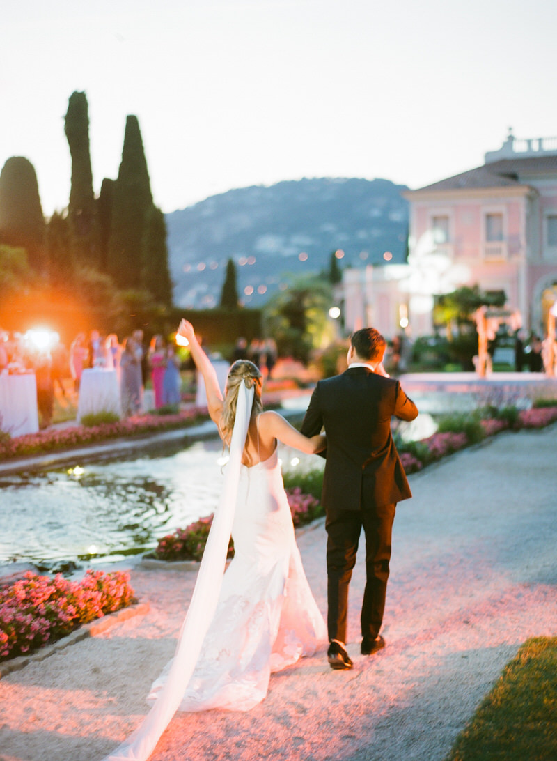Destination Wedding at Villa Ephrussi De Rothschild