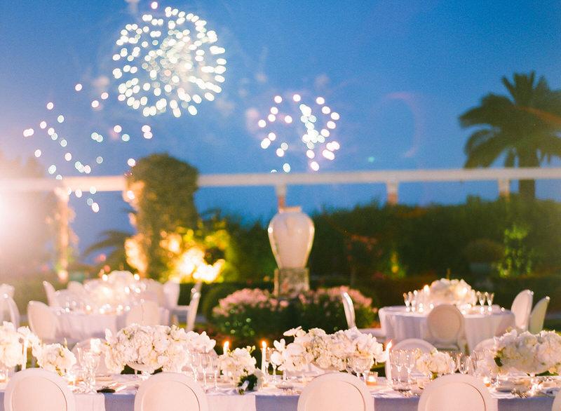 Destination Wedding at Villa Ephrussi De Rothschild