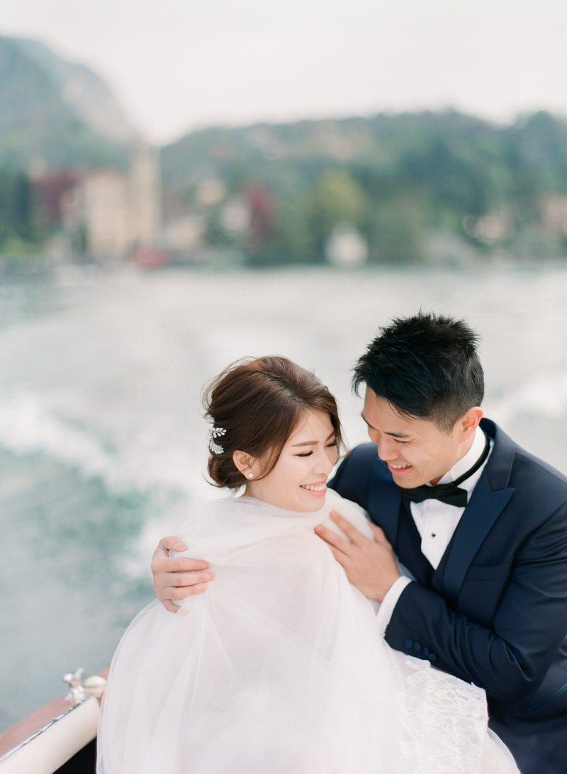 Lake Como Prewedding Shoot